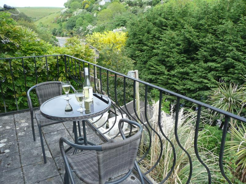 Balcony, The Retreat, Polperro