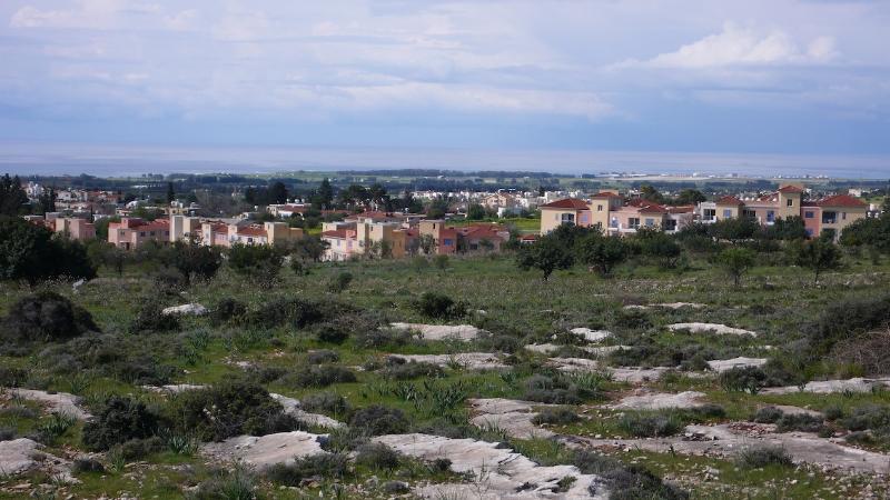 Overlook of the resort Anarita Chorio.