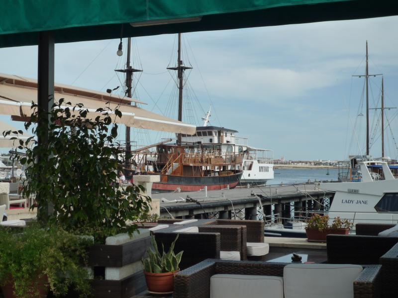 Enjoy a drink or a meal at Paphos Harbour
