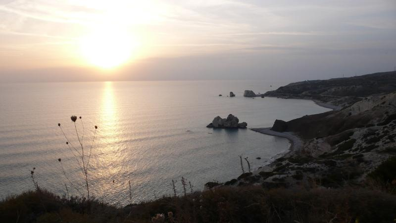 Aphrodite's Rock - The Birthplace of Aphrodite and just a 10 to 15 minute drive away