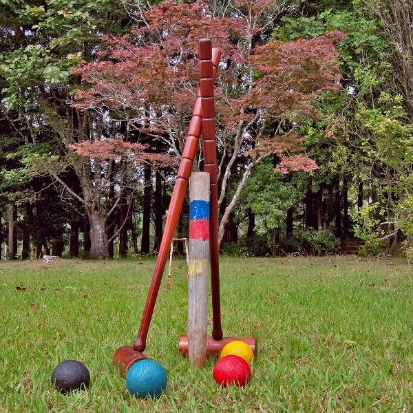 Croquet at Quinta das Colmeias