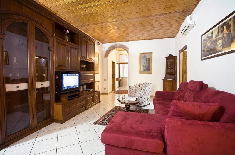 Sala de estar - Apartamento en Florencia - centro