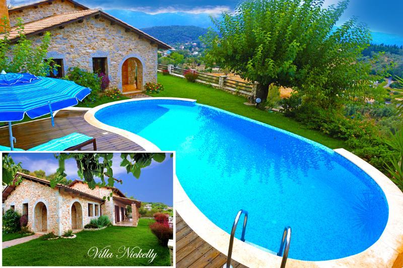 Villa Nickelly, location de vacances à Lefkada