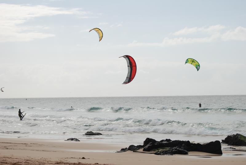 Kite Surfing at El Cotillo