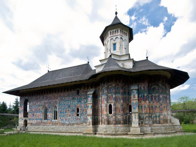 Voronet Monastery (Unesco Site - 125 km from Piatra Neamt)