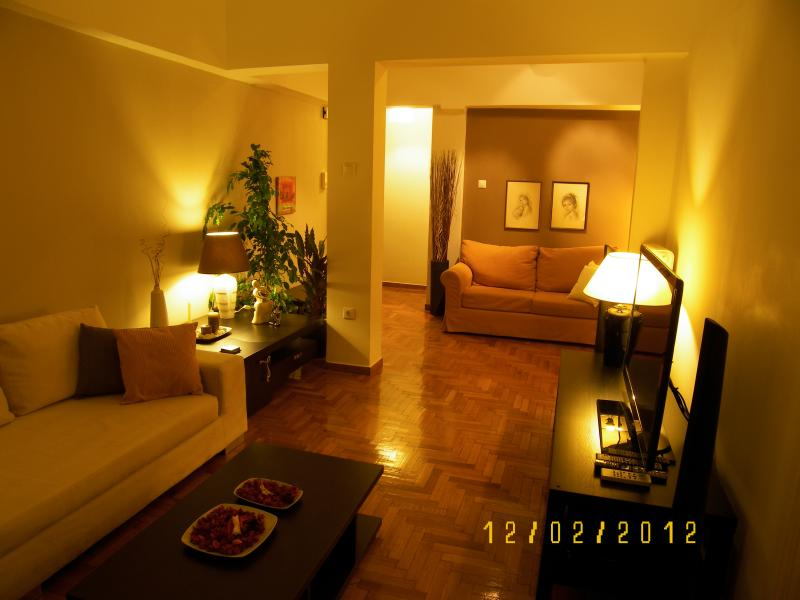 ATH Center 1 - 2 bedrooms, Metro, Satelite, holiday rental in Athens