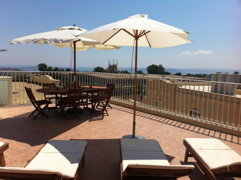 Chill out, BBQ, Spot fireworks or shooting stars from the roof Terrace