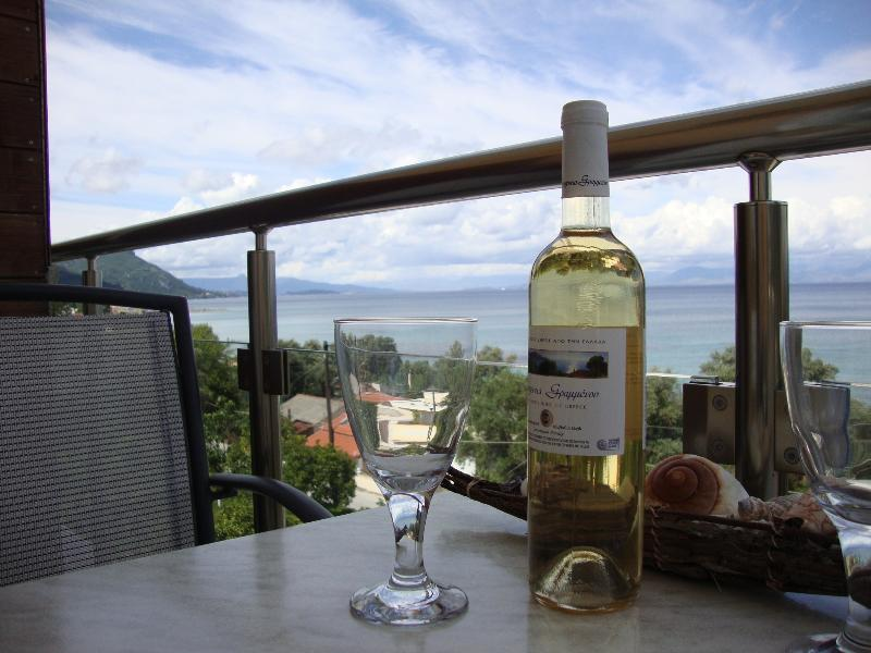 Enjoy a glass of wine on your private balcony