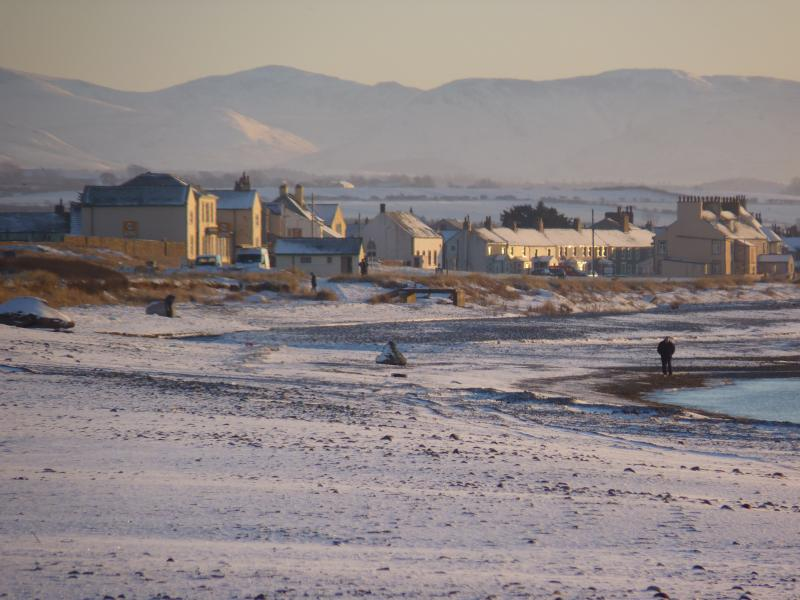 A Winters day in Allonby