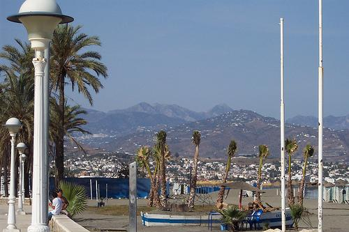 Nearest beach at Torre Del Mar