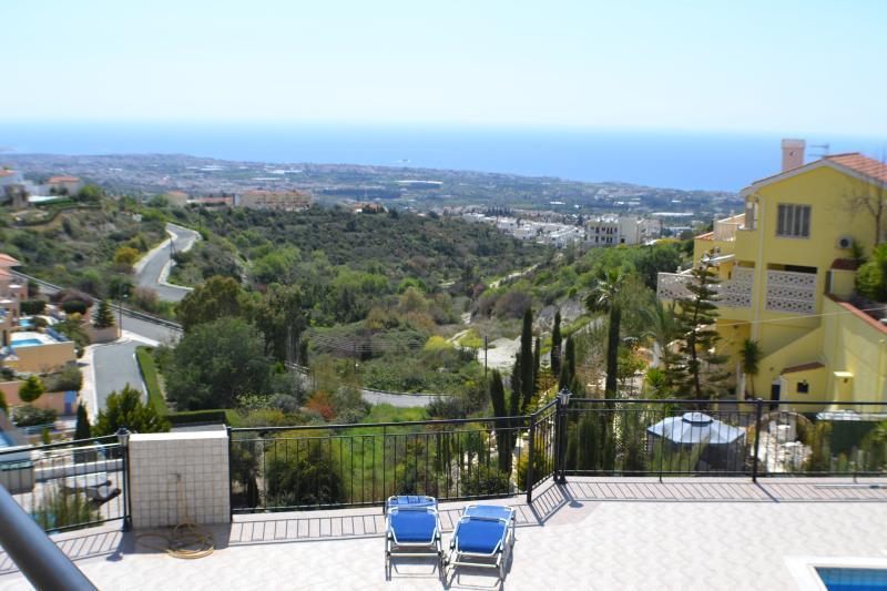 Tala View from upstairs balcony