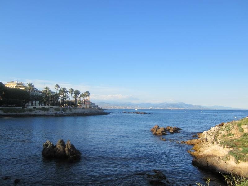 View towards Nice from Royal Beach