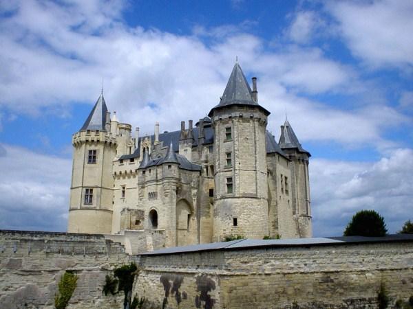 Das Schloss in Saumur