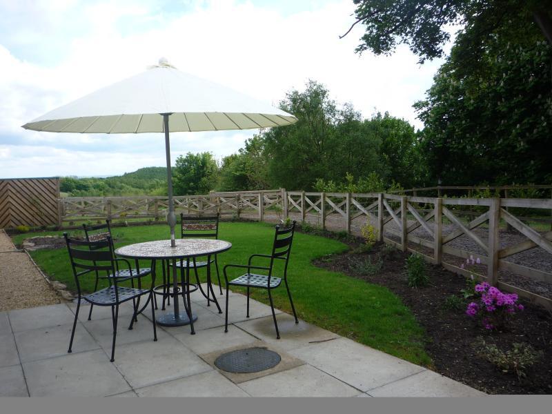 Privet garden and patio