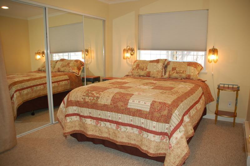 Separar dormitorio con armario & nueva cama Queen