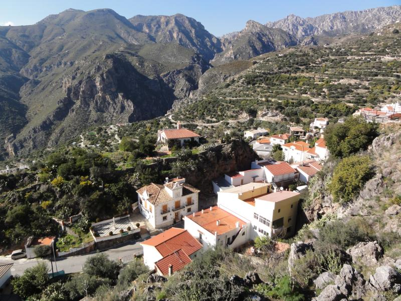 View from Lentige a nearby village