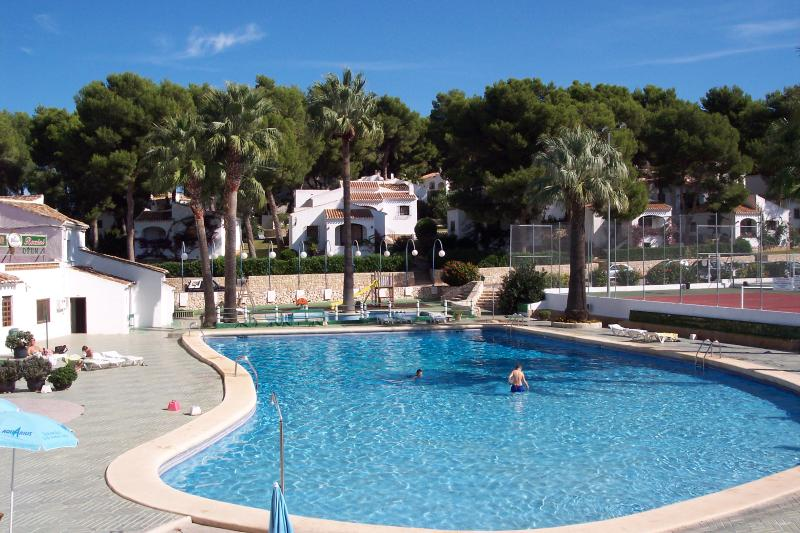 swimming pool supposed to be one of the largest in javea