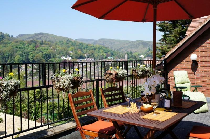 Relax on the deck at Redwood. Kick your shoes off and put your feet up.  Birds to watch and stars.