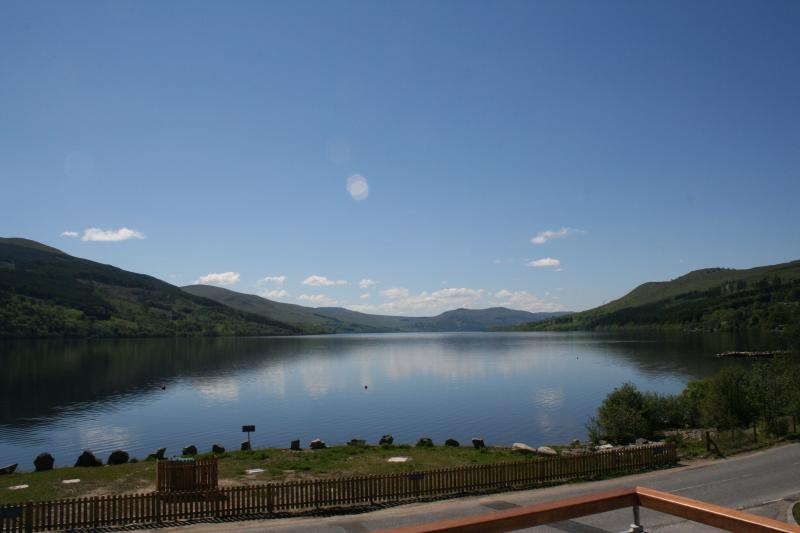Stunning View of Loch Tay from the Balcony