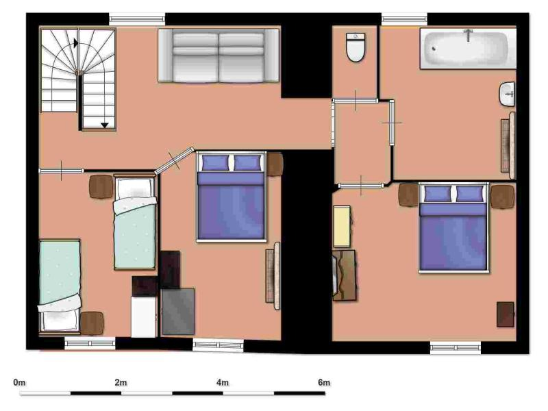 Floor-plan upstairs