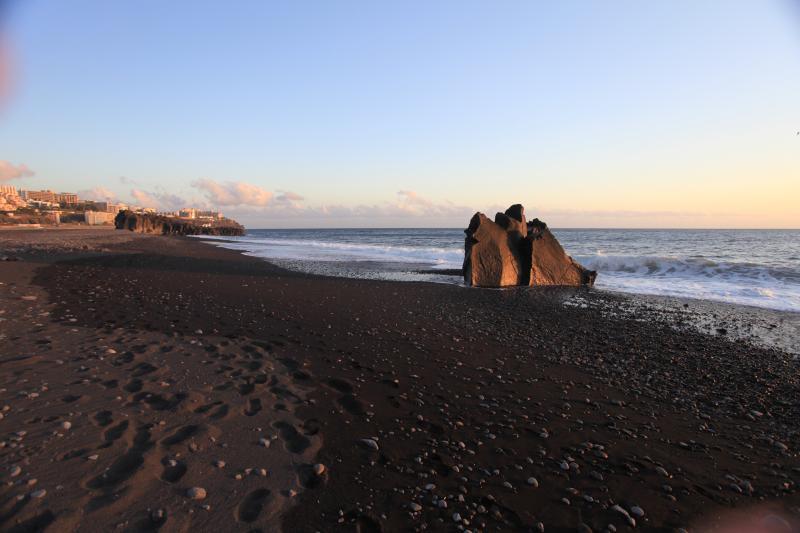local sand beach