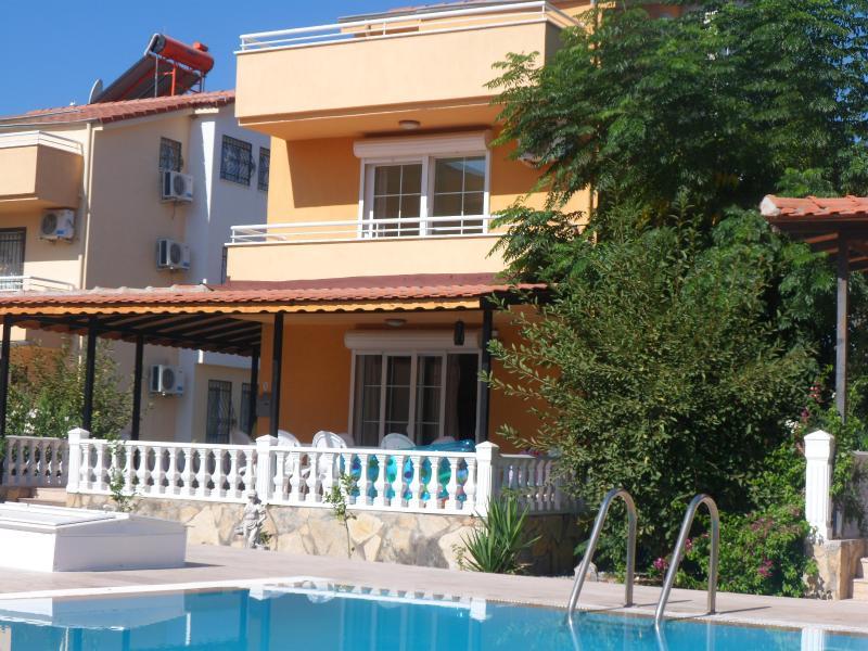 poolside villa in gated complex of 10 villas