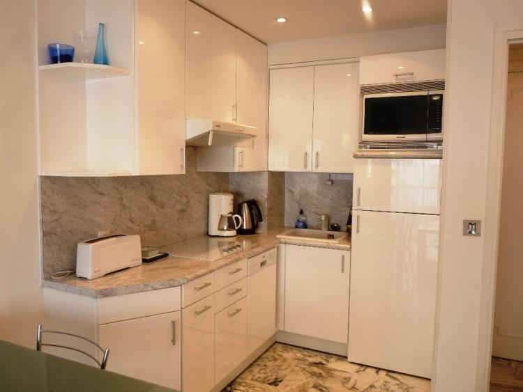 The fresh, modern fitted kitchen