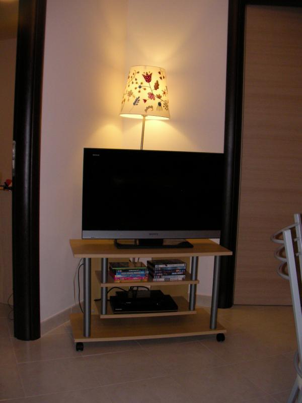 TV,DVD & CD system in living room