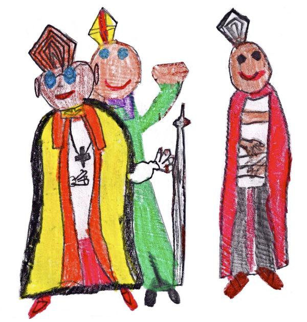 THE ARCHBISHOP AND FRIENDS...