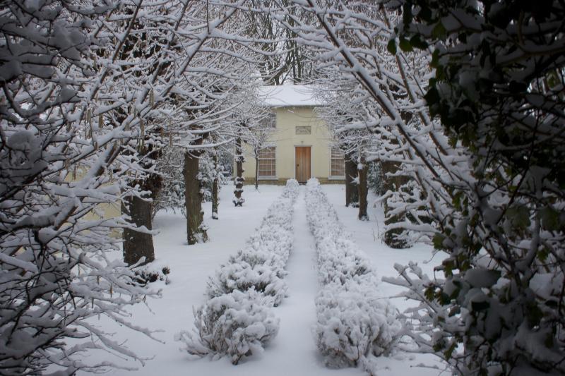 Old Chapel in winter