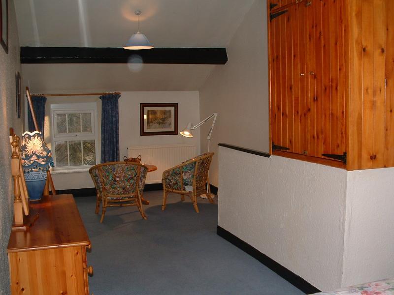 Extra Sitzecke großen Doppelzimmer als Einzelzimmer