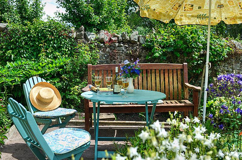 ¿Almuerzo en el jardín?