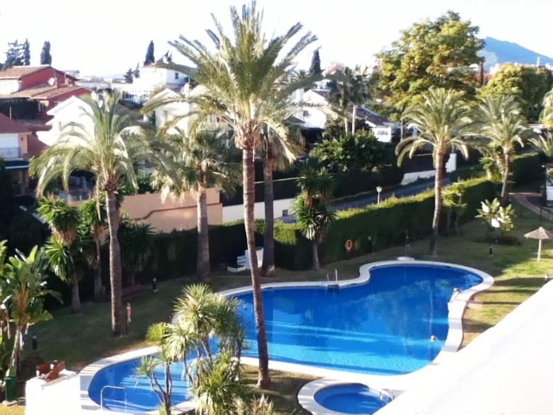 Communal pool (view from terrace)