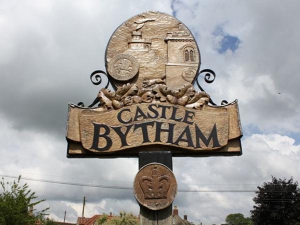 Castle Bytham Sign