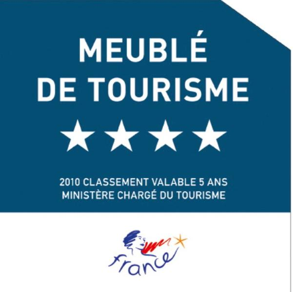 4* rated and inspected by the French Tourist Authority