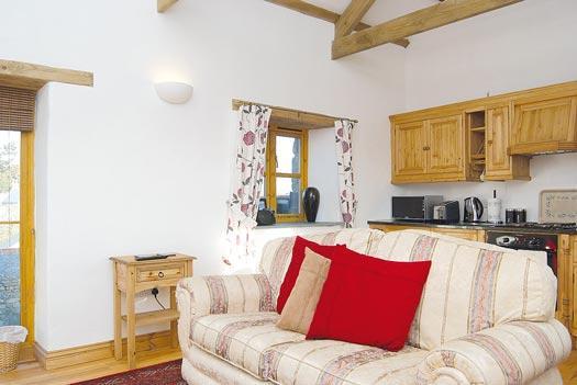 Upstairs kitchen/lounge