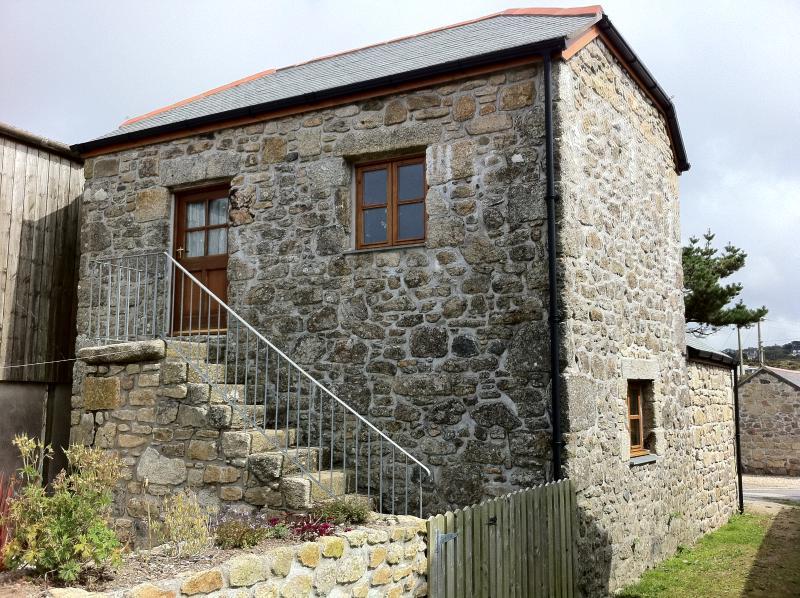 Original stone steps 1 0f 2 entrances.