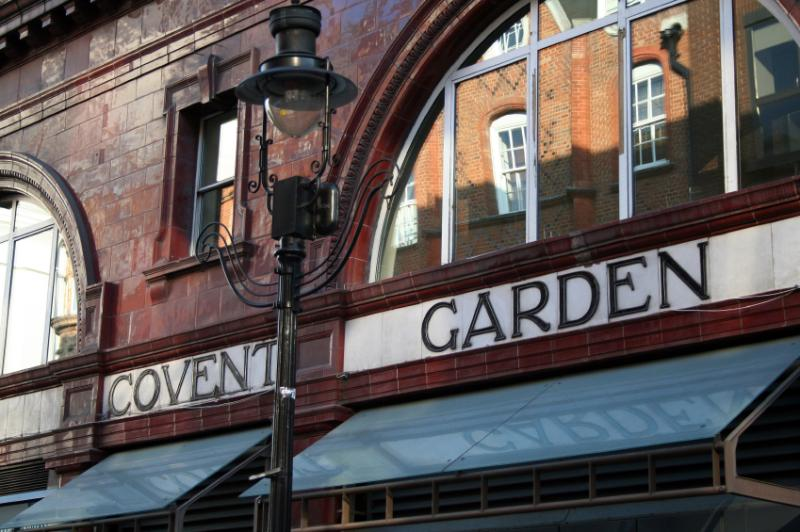 Covent Gardens....only a short stroll away