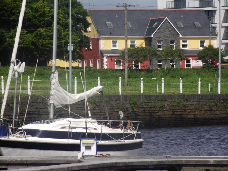 Wild Dolphin Accommodation overlooking Marina