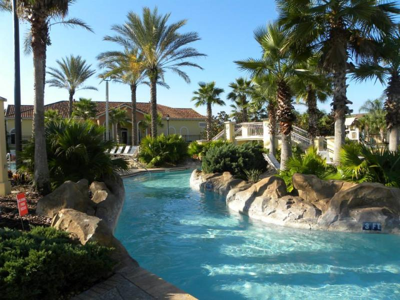 Regal Palms - Tropical Swimming Pool with Lazy River and Water Slide
