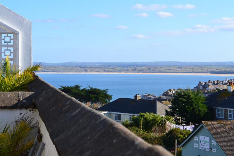 Beautiful sea view on South facing Terrace