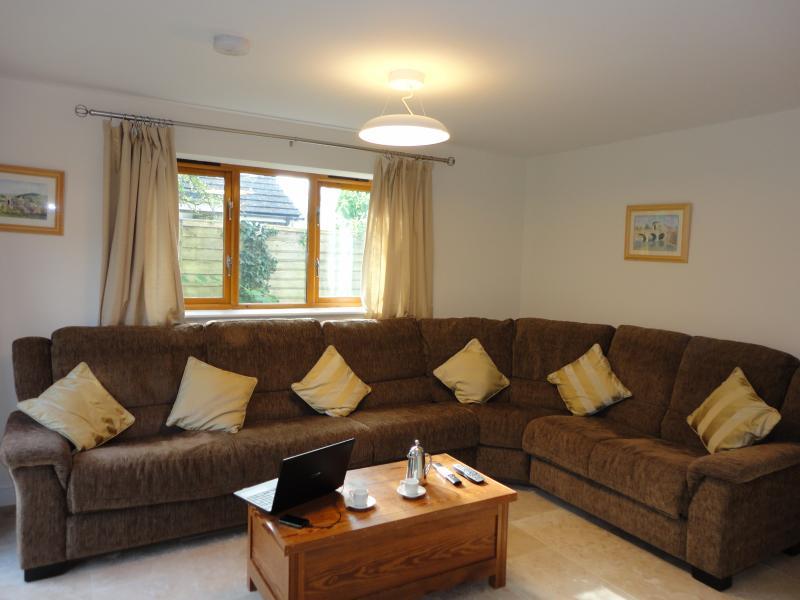 Large corner sofa in Lounge