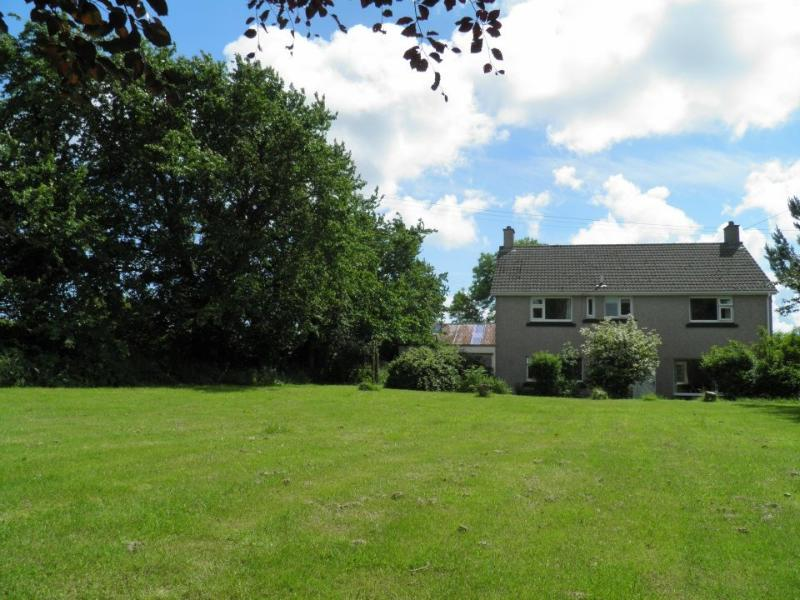 View of Stockwell House and garden. Ideal for barbecues and play area.