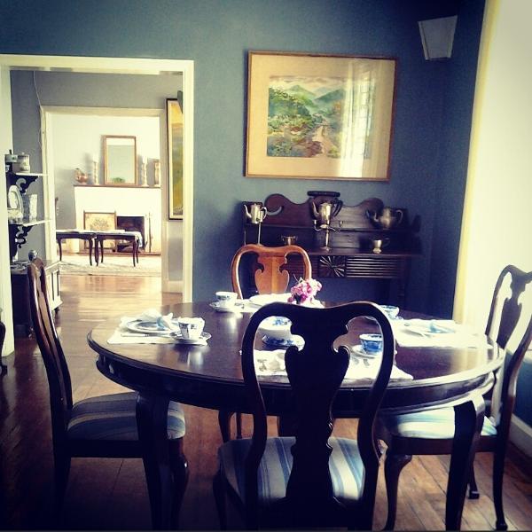 Sala de desayunos.