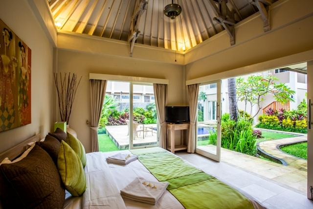 Garden Pool Villas Three Bedrooms - Bedroom