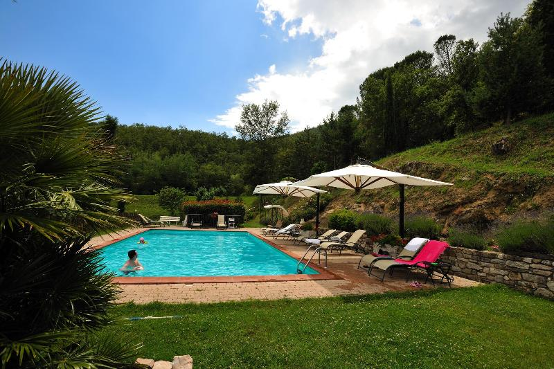 Amazing apartment with shared pool, vacation rental in Lisciano Niccone