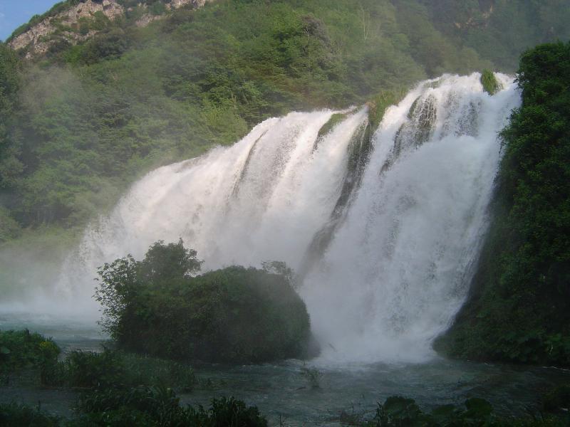 Marmore waterfall, 30 min far away