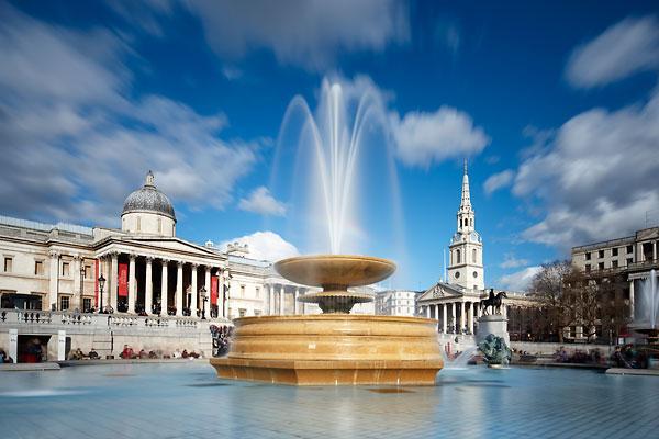 Immediate Surround - Trafalgar Square 2 mins