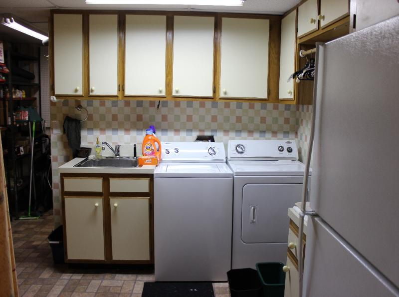 Laundry Room and Work Shop