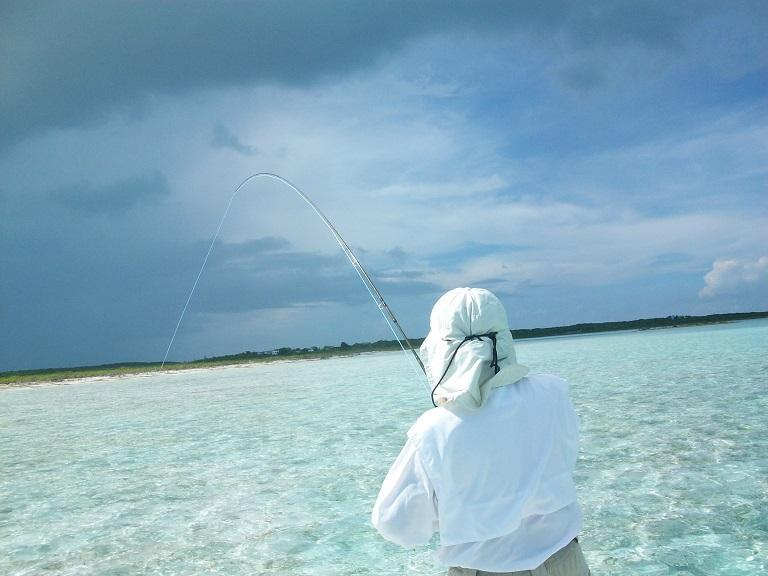 The Bone fishing in Exuma is awesome, Let Charlie be your guide.